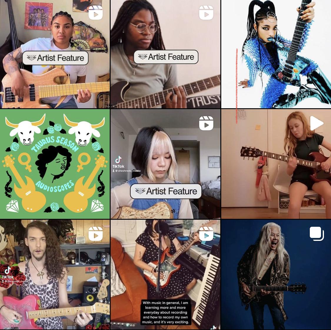 She Shreds – Frauen, ran an die Gitarren und den Bass