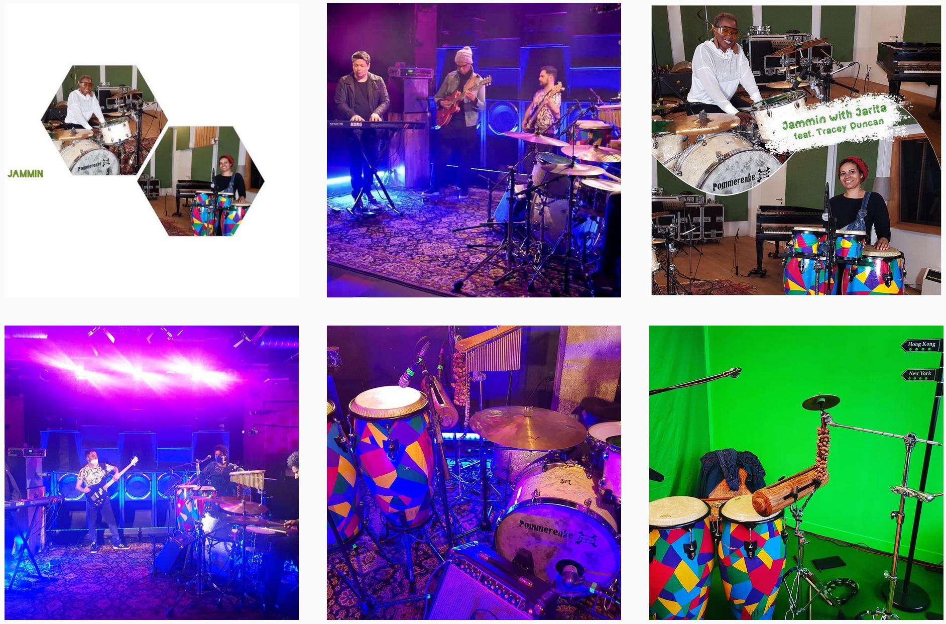 Drums, Voice, Curls – Jammin' with Jarita Freydank
